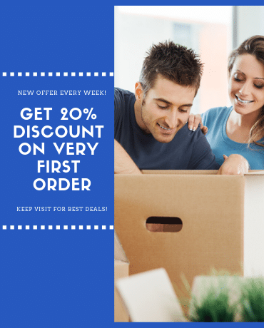 20 percent discount on very first order